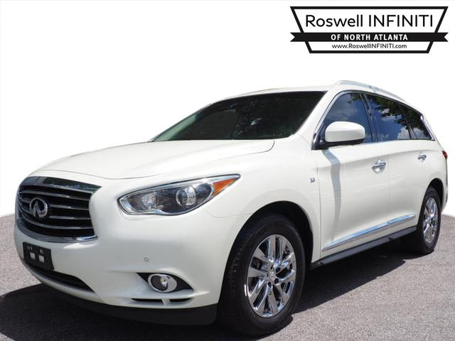 Certified Pre-Owned 2015 INFINITI QX60