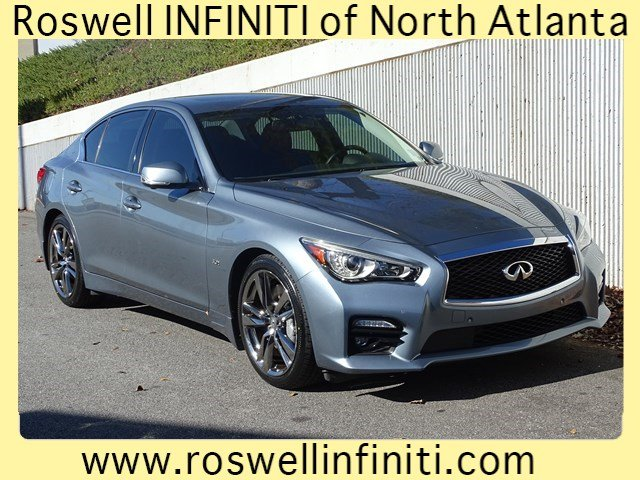 Certified Pre-Owned 2016 INFINITI Q50 3.0t Sport