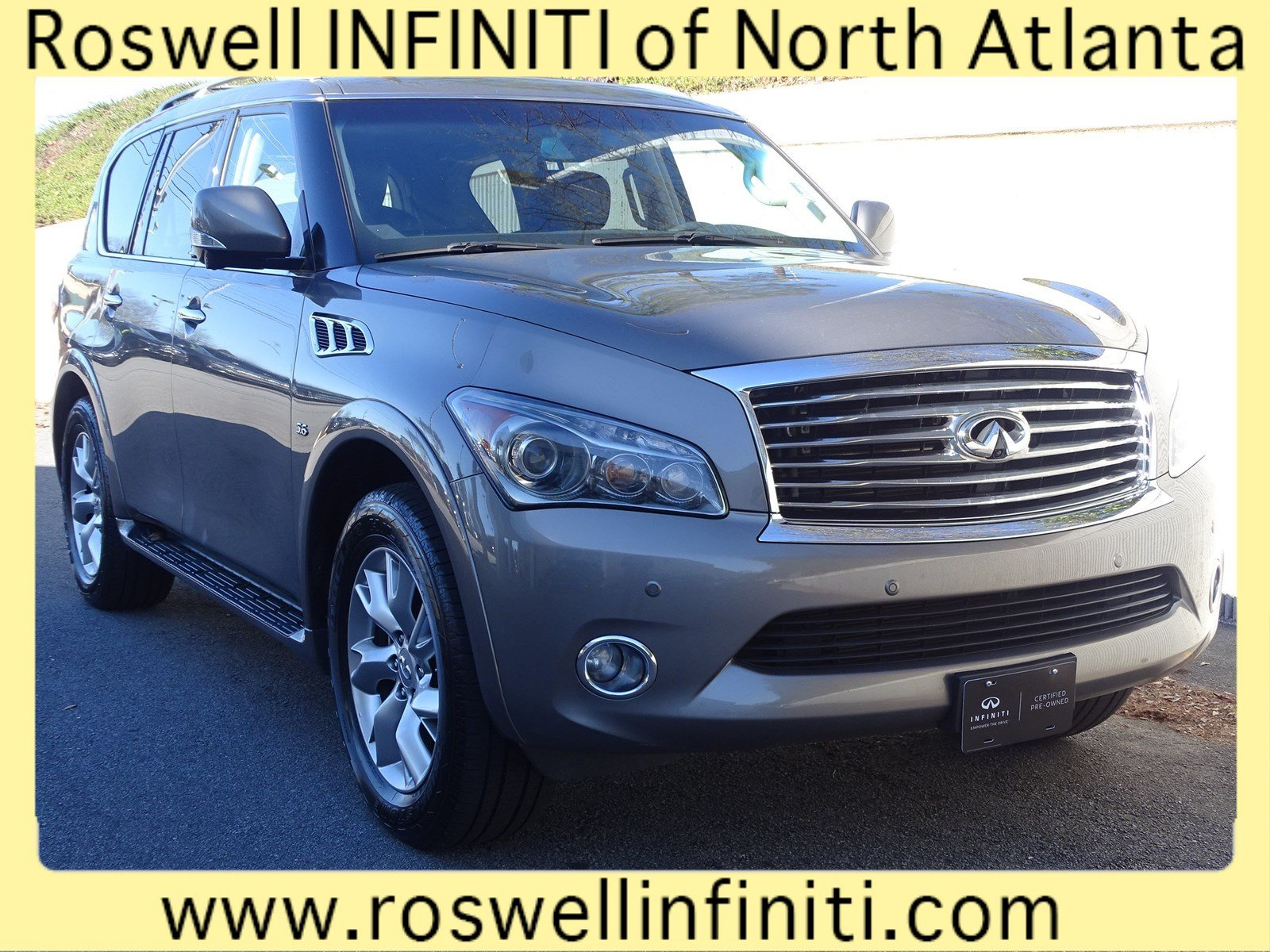 Pre Owned 2014 Infiniti Qx80 Sport Utility In Roswell Rx89053a Key Fob Remote Start