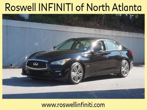Certified Pre-Owned 2014 INFINITI Q50 Hybrid