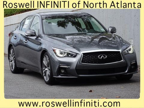 Certified Pre-Owned 2018 INFINITI Q50 3.0t SPORT